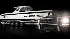 AMG 42 Huntress Cigarette Boat - Immagine: 1