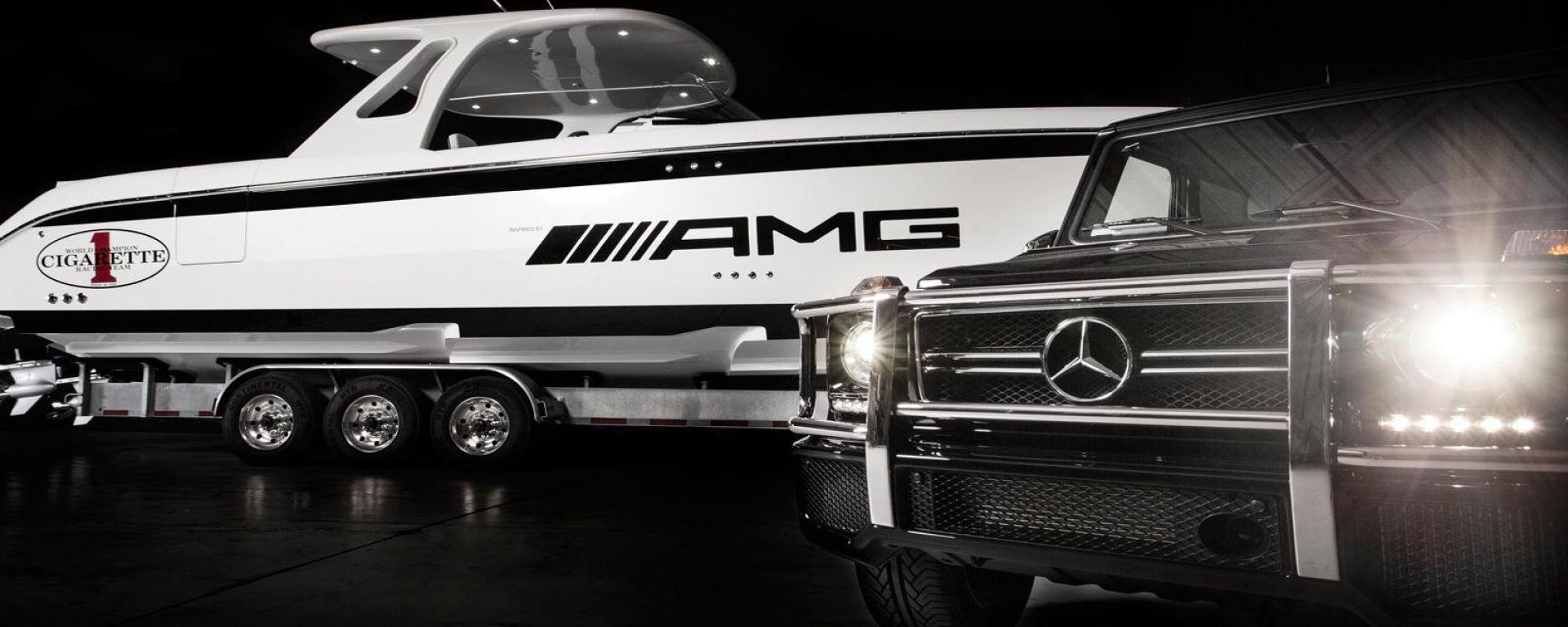 AMG 42 Huntress Cigarette Boat