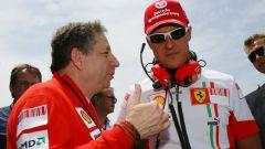 L'ammissione di Todt sulle condizioni di Schumacher