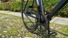 Ampler Curt: i pedali e la catena in carbonio