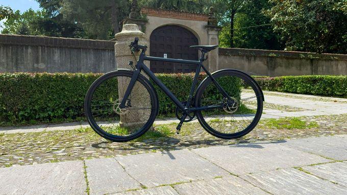 Ampler Curt: visuale laterale della e-bike
