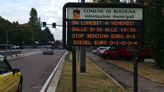 Anche Bologna dice addio ai diesel Euro 4