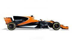 Anche in McLaren hanno optato per il cofano motore a forma di pinna di squalo - McLaren MCL32