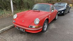 Anche Porsche 911T Coupe nel garage di Scott