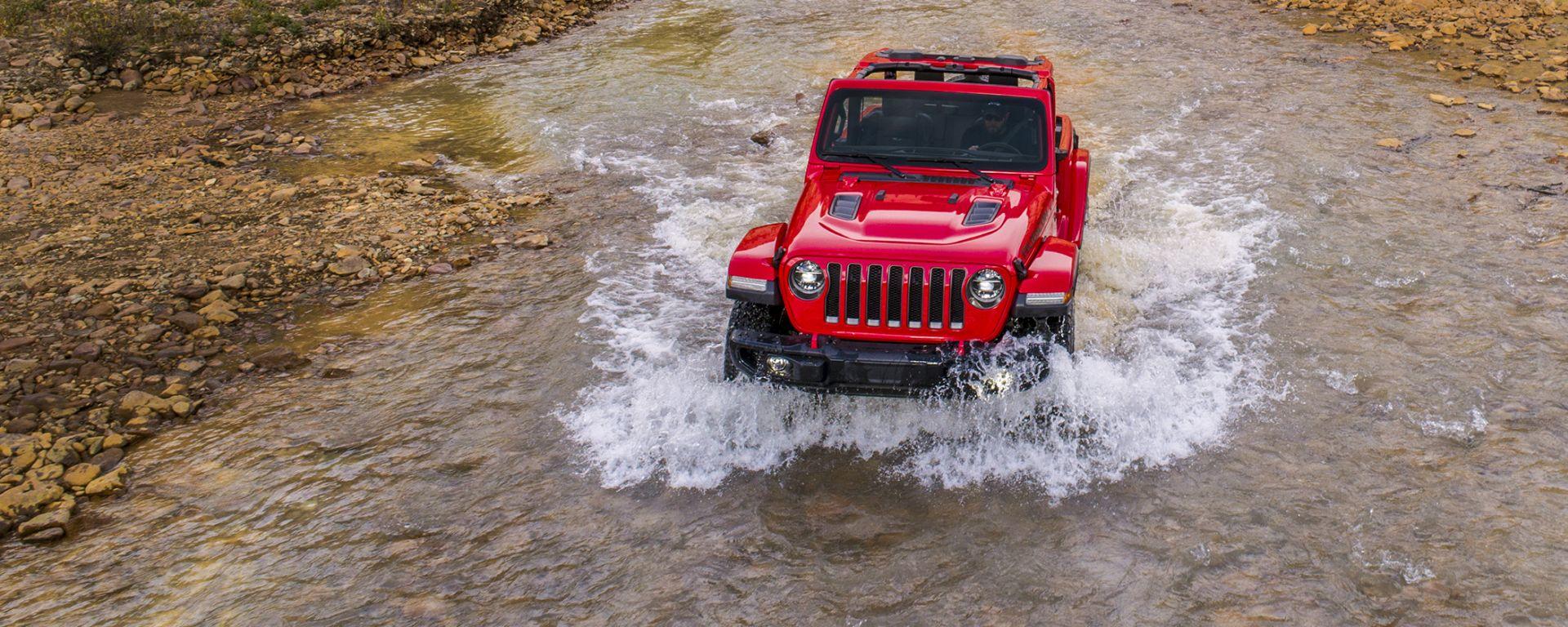 Ancora più specializzata della Rubicon, la Jeep Wrangler Mojave dovrebbe arrivare nel 2021