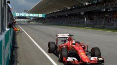 And the winner is Sebastian Vettel! - GP Malesia 2015