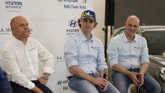 Andrea Adamo, Umberto Scandola e Riccardo Scandola conferenza stampa