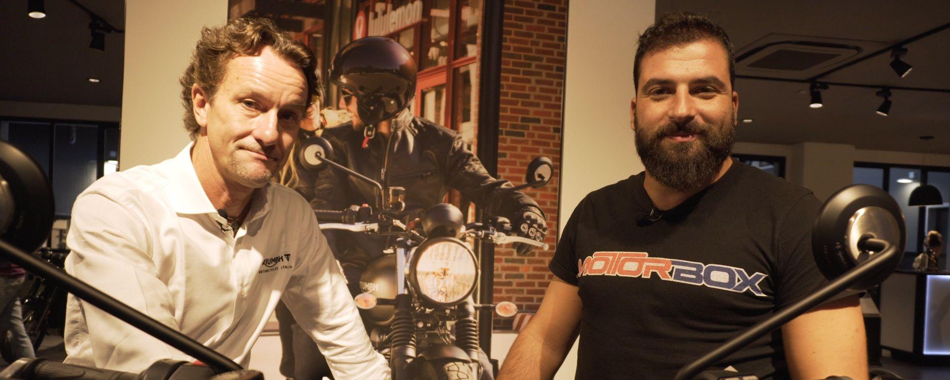 Andrea Buzzoni ci racconta i segreti di Triumph Milano