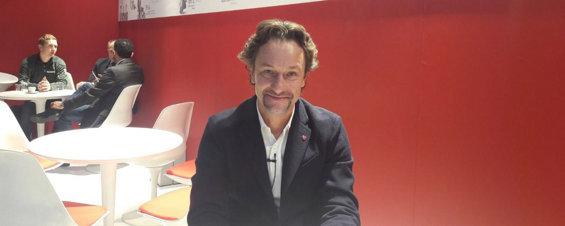 Andrea Buzzoni, Global Sales and Marketing Director Ducati
