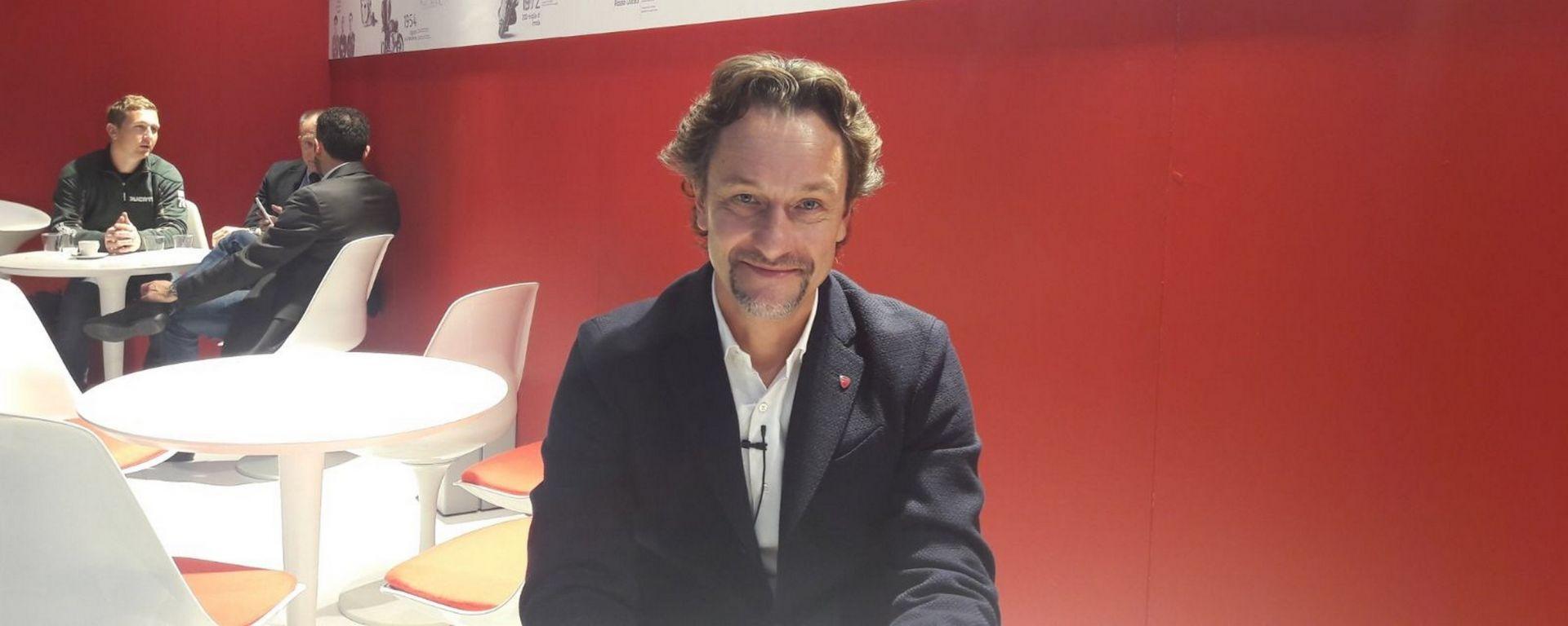 Andrea Buzzoni, Global Sales and Marketing Director Ducati