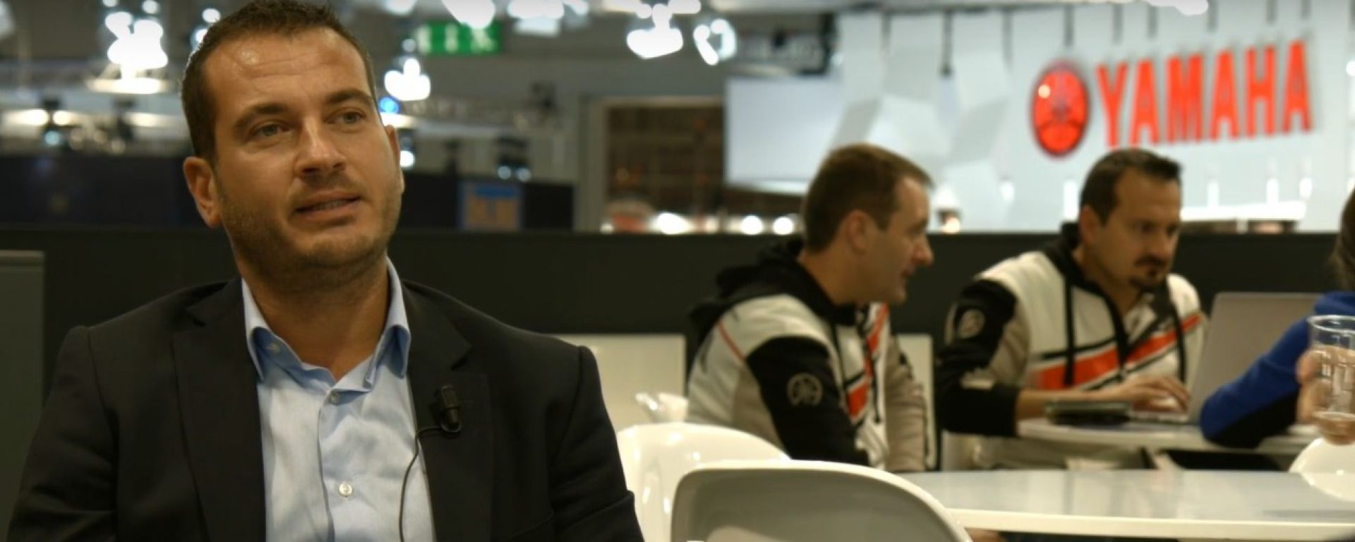 Andrea Colombi, Country Manager Yamaha Motor Europe fil Italia