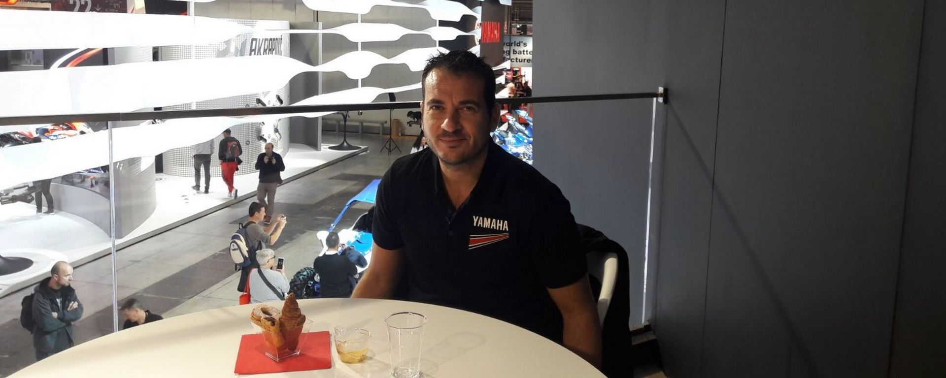 Andrea Colombi, Country Manager Yamaha Motor Europe