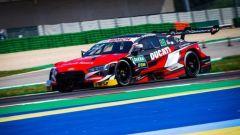 Andrea Dovizioso con l'Audi nel DTM a Misano 2019