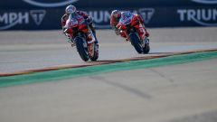 Andrea Dovizioso e Jack Miller (Ducati)