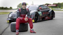 Andrea Dovizioso e l'Audi RS5 Dtm