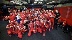 Andrea Dovizioso festeggia a Spielberg la 50° vittoria della Ducati nel Motomondiale