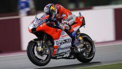 Andrea Dovizioso sulla Ducati 2018