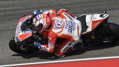 MotoGP Malesia 2017: Andrea Dovizioso è il più veloce sia sull'asciutto che sul bagnato, Marquez quinto