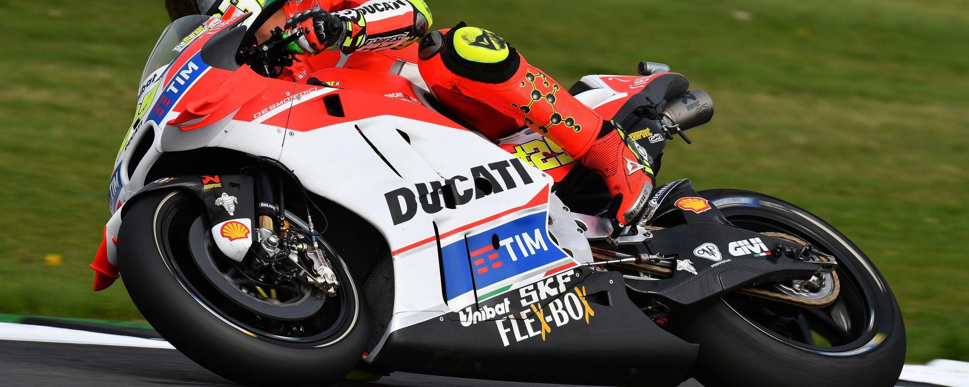 Andrea Iannone a Silverstone