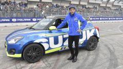 Andrea Iannone al Motor Show di Bologna
