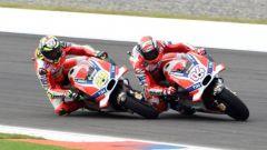 Andrea Iannone e Andrea Dovizioso - Ducati Corse