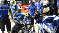 Andrea Iannone pronto a scendere in pista