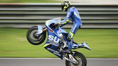 Andrea Iannone Suzuki Ecstar test Sepang 2017 day 2