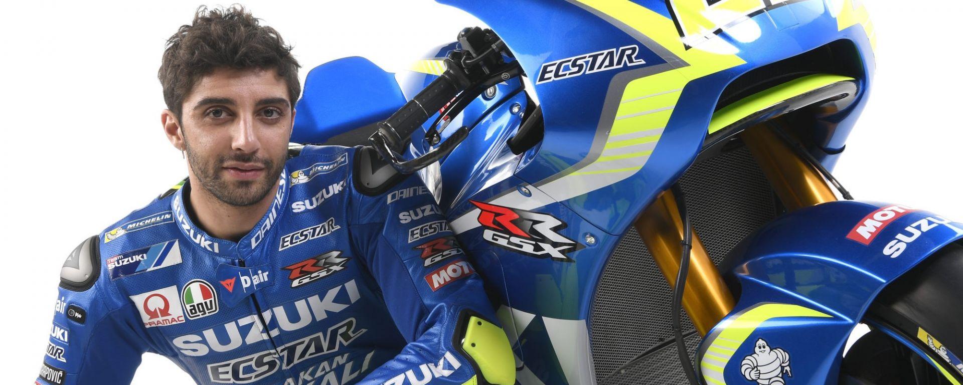 Andrea Iannone Suzuki GSX-RR