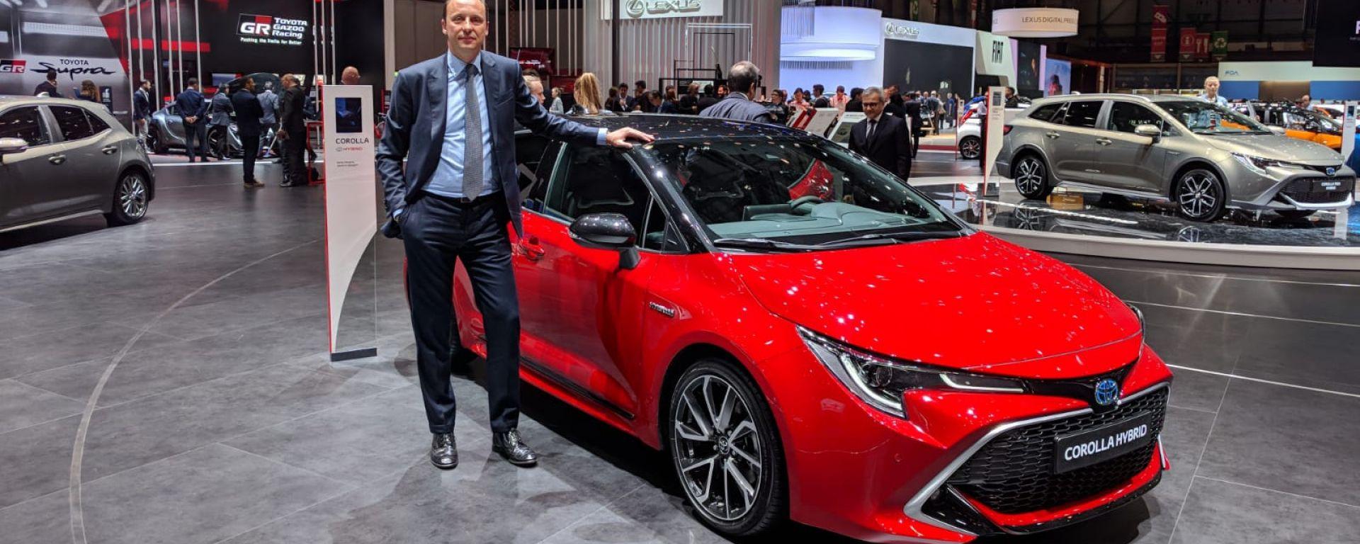Andrea Saccone, responsabile comunicazione e relazioni esterne Toyota