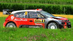 Andreas Mikkelsen a bordo della Citroen C3 WRC