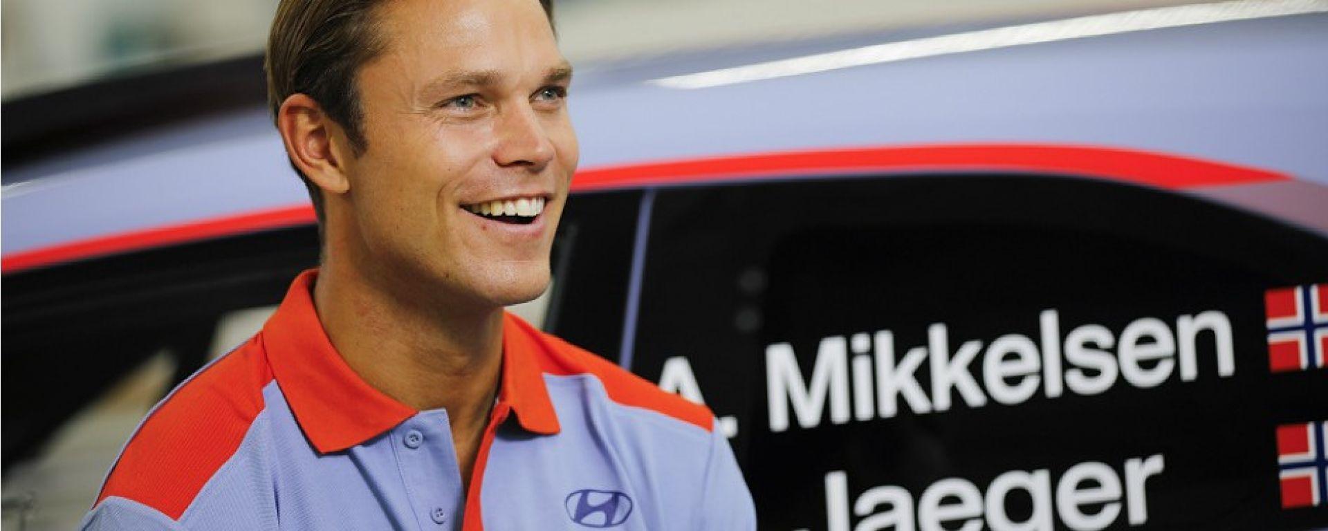 Andreas Mikkelsen - pilota Hyundai i20 Coupè
