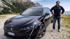 Andreucci e la sua Peugeot 508: ecco come si guida (video) - Immagine: 1