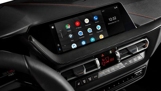 Android Auto sul display dell'auto