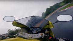 Nurburgring: video onboard, record su bagnato con Yamaha R1 2004