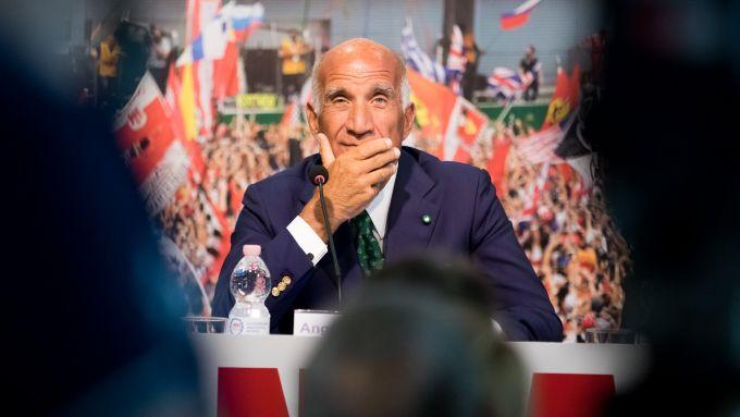 Angelo Sticchi Damiani - conferenza stampa Monza F1 2017