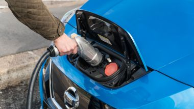 Ansia da ricarica per le auto elettriche: la presa di ricarica ChaDeMo di Nissan Leaf