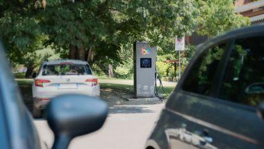Ansia da ricarica per le auto elettriche: una colonnina pubblica