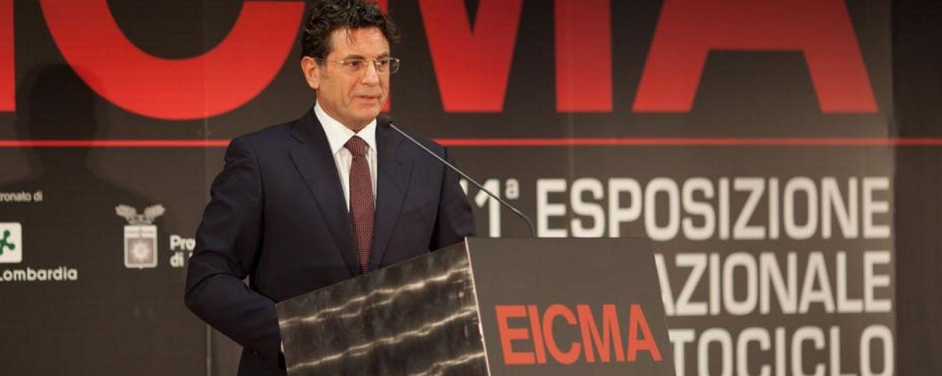 Antonello Montante, presidente di EICMA, arrestato per corruzione