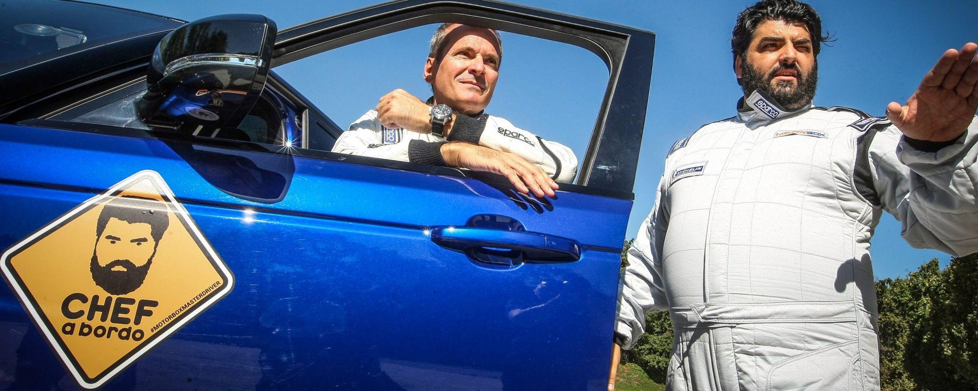 Antonino Cannavacciuolo in pista a Monza: il primo trailer