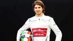 Antonio Giovinazzi al via della stagione 2019 di Formula 1
