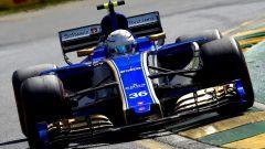 Antonio Giovinazzi con la Sauber C36 nel GP d'Australia 2017