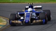 Antonio Giovinazzi sulla Sauber C36 al GP d'Australia