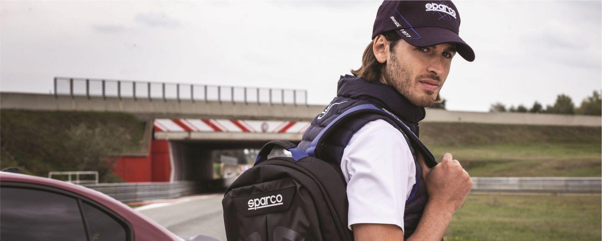 Antonio Giovinazzi testimonial di Sparco 2020