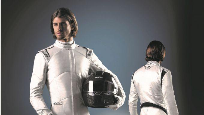 Antonio Giovinazzi veste la tuta Prime+ della linea 2020 di Sparco Racing