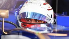 F1 2018: Antonio Giovinazzi al volante dell'Alfa Romeo-Sauber in sei FP1