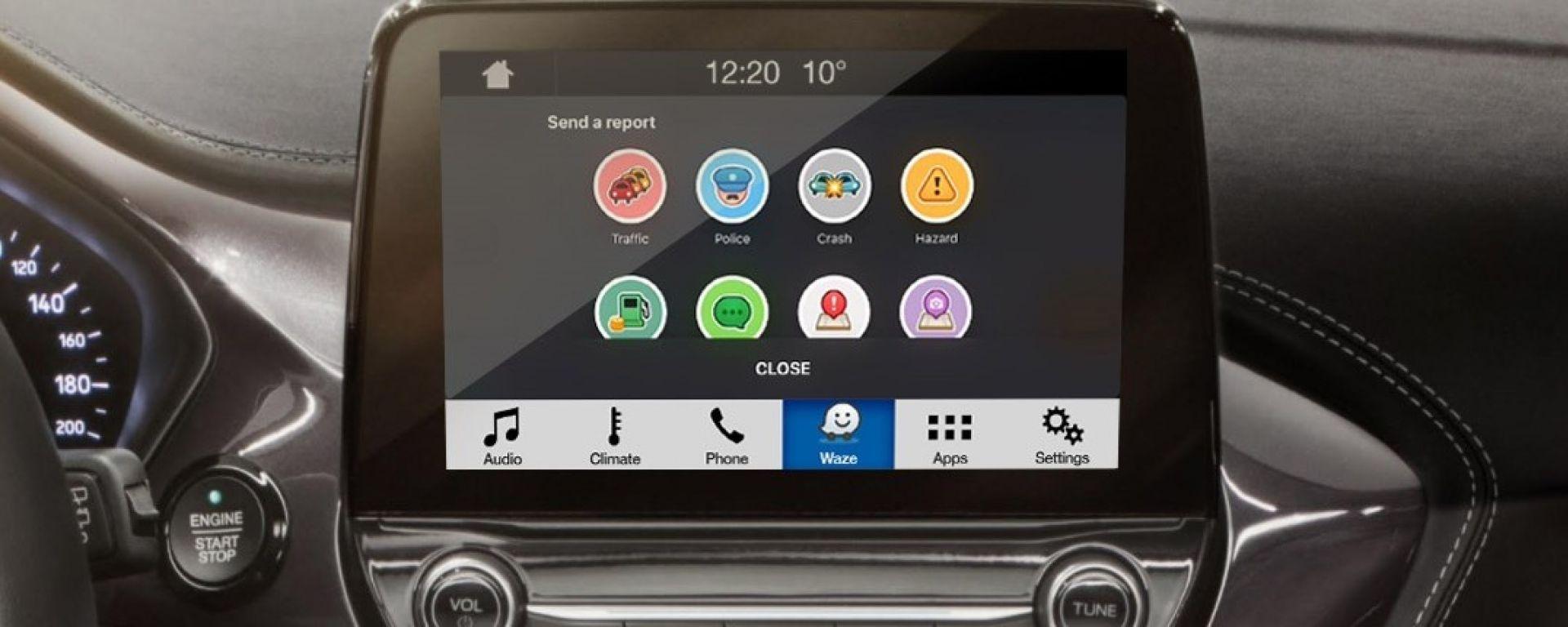 Waze su Ford SYNC 3 e AppLink a partire da aprile 2018