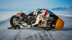 Appaloosa, la moto con cui Indian parteciperà alla drag race Baikal Mile Ice Speed Festival 2020
