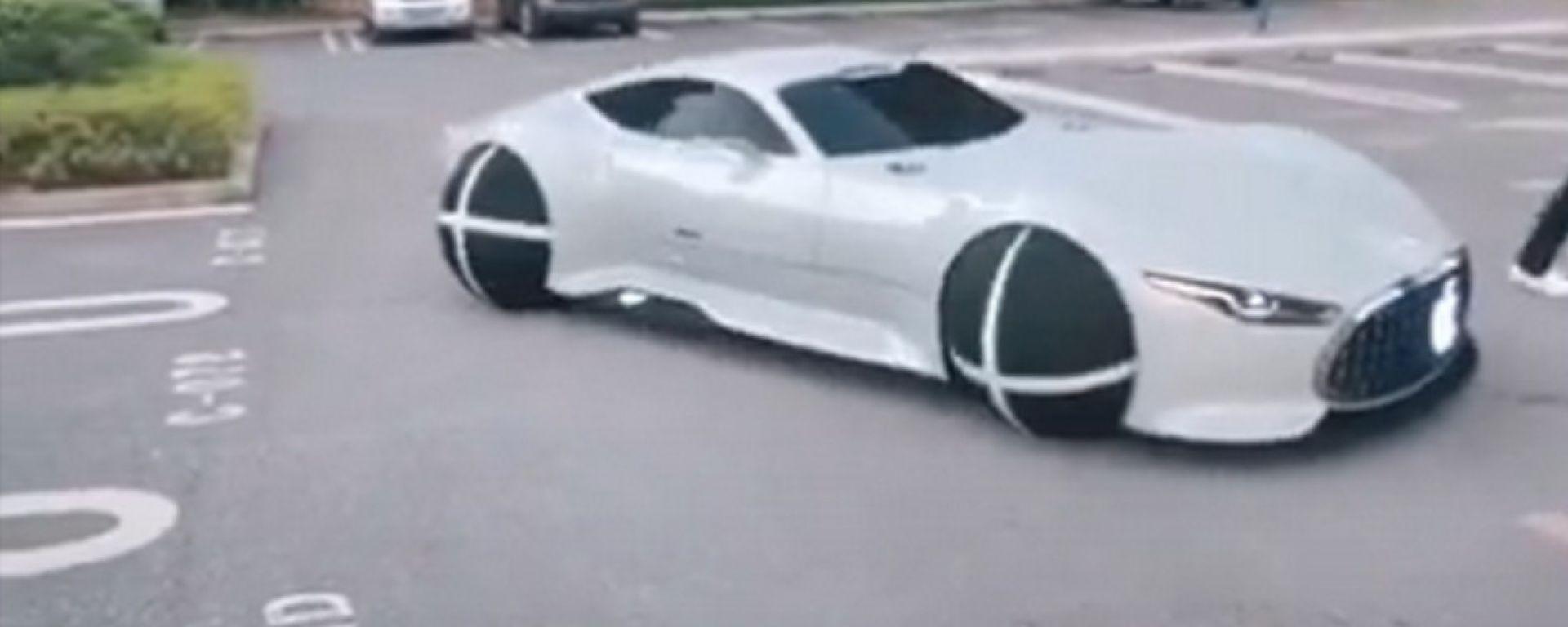 Apple Car? No, fake car