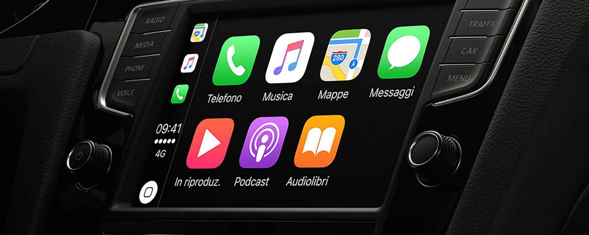 Apple CarPlay: come funziona l'infotainment di Apple
