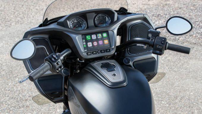 Apple CarPlay: sui modelli 2020 di Indian Chieftain, Roadmaster e Challenger è supportato
